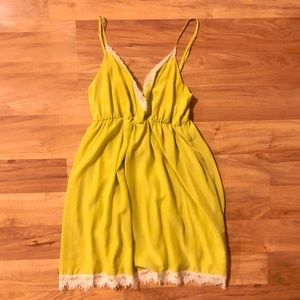 Urban Outfitters Cope Babydoll Dress NWOT